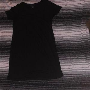 Black T-Shirt Styled Dress